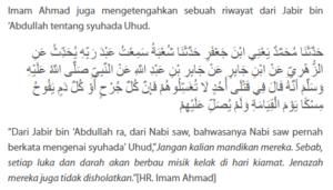 Cara Memandikan Jenazah yang Mati Syahid