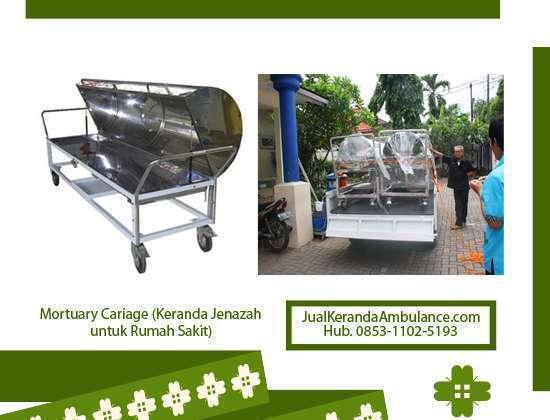mortuary carriage Jawa Barat, keranda jenazah rumah sakit Jawa Barat