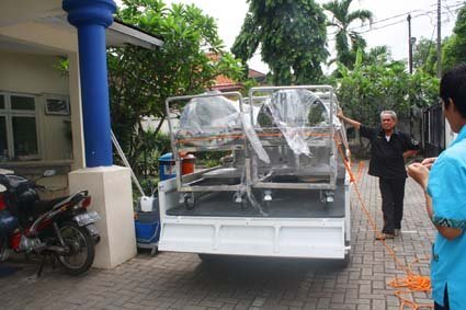 mortuary carriage Gorontalo, keranda jenazah rumah sakit Gorontalo