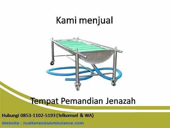 Tempat Mandi Jenazah Sumatera Barat, Tempat Mandi Jenazah Stainless Steel Sumatera Barat, Tempat Mandi Mayat Sumatera Barat