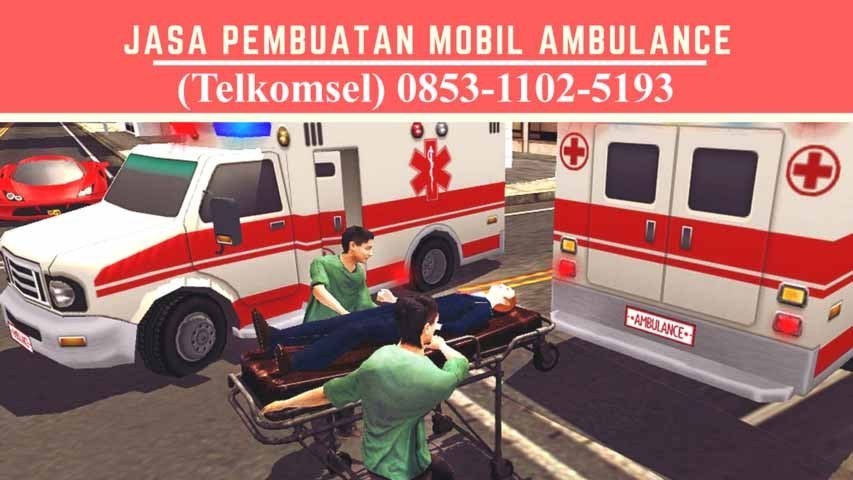 karoseri ambulance Tapos