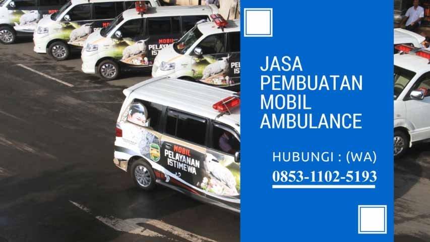 karoseri ambulance Pancoran