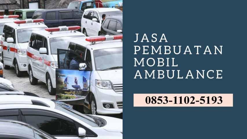 karoseri ambulance Grogol Petamburan
