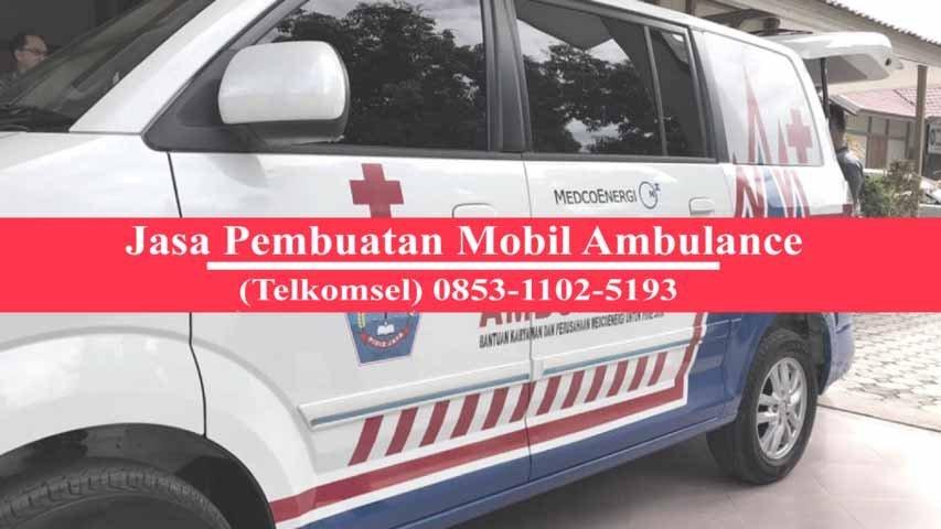 karoseri ambulance Cilincing