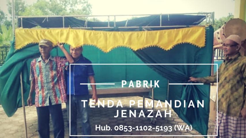 Tenda Pemandian Jenazah, Tenda Pemandian Jenazah Kalimantan Barat