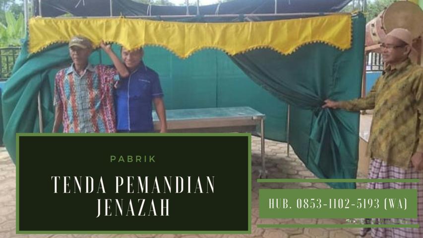 Tenda Pemandian Jenazah, Tenda Pemandian Jenazah Sulawesi Tenggara