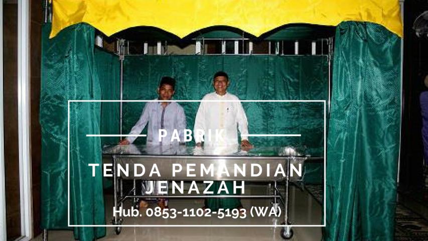 Tenda Pemandian Jenazah, Tenda Pemandian Jenazah Sulawesi Barat